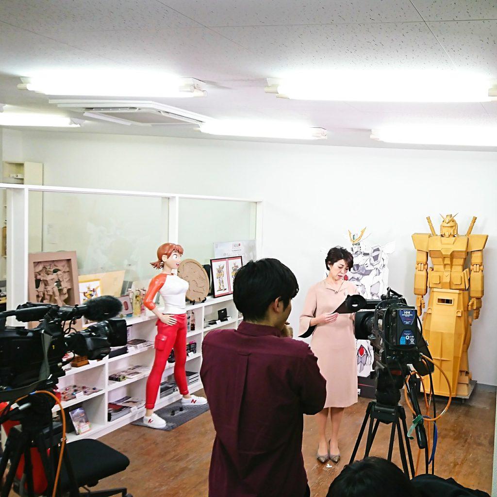TV神奈川取材